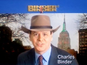Charles Binder will wear a silly hat in court, sources say.