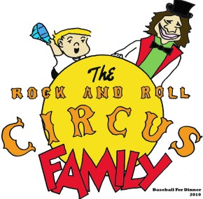 The Rock and Roll Circus Family baseballfordinner comics