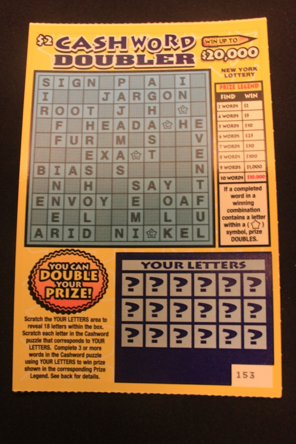 Cashword Secrets - How to win at the lottery Scott Watson