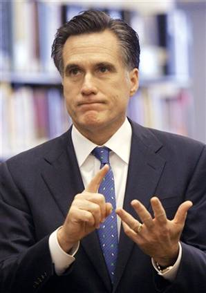 The Shocking Truth Behind 47% of Mitt Romney's Pictures is that he is secretly farting.