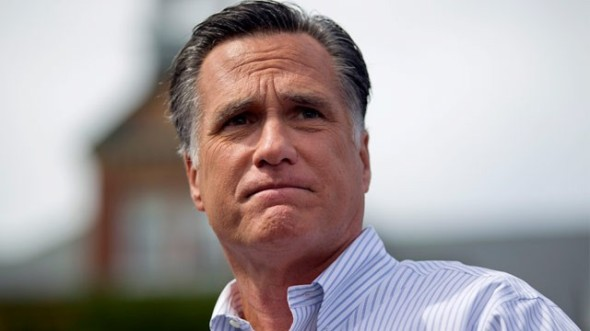 The Shocking Truth Behind 47% of Mitt Romney's Pictures is that he's secretly farting.