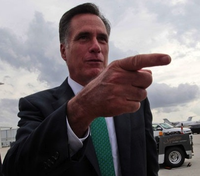 The Shocking Truth Behind 47% of Mitt Romney's Pictures is that he's farting