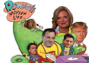 Romney's Modern Life Vote November 6th against Mitt Romney, Chris Christie, Paul Ryan, Ann Romney, Donald Trump, save Seamus the dog!