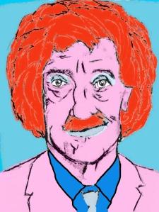 Kurt Vonnegut by Scott Watson